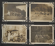 Fascinating insight Vintage images show the German community of  New York between 1910 and 1918<br /> <br /> All these images where taken in Utica,  Oneida County, upstate New York between about 1910 and 1918. They show the German community at work and play and going about their daily life.<br />  Many Germans emigrated to the US in the 1850s and 1870s on account of the political situation in the German states. Communities grew up around the mill towns. In some of these German towns, like Hustiford in Wisconsin, German was the first language and children often did not speak English. Photos include one of Henry de Witte in his military uniform at the time the US had declared war on Germany, and members of a German turnvereins or community sporting club. <br /> ©OneMansTreasure/Exclusivepix Media