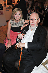 SIR PETER & LADY BLAKE at Tunnel of Love - a fashion & art party in aid of The British Heart Foundation held at The Proud Gallery, Camden, London on 29th May 2012.