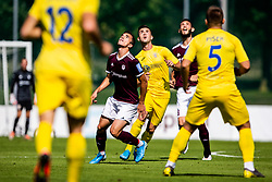 Egzon Kryeziu of NK Triglav  during football match between NK Triglav and NK Domzale in 9th Round of Prva liga Telekom Slovenije 2019/20, on September 15, 2019 in Sport park Kranj, Kranj, Slovenia. Photo by Grega Valancic / Sportida