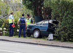 Auckland-Pedestrian hit by car on Don Buck Road, Massey