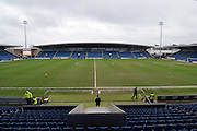Chesterfield FC ground before the Sky Bet League 1 match between Chesterfield and Fleetwood Town at the b2net stadium, Chesterfield, England on 26 March 2016. Photo by Ian Lyall.