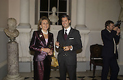 Comtesse Bertrand de Rouge, ( mother) Charles de Vivie de Regie, Launch of ' The World of Private Castles, Palaces and Estates. Syon House. 31 October 2005. ONE TIME USE ONLY - DO NOT ARCHIVE © Copyright Photograph by Dafydd Jones 66 Stockwell Park Rd. London SW9 0DA Tel 020 7733 0108 www.dafjones.com