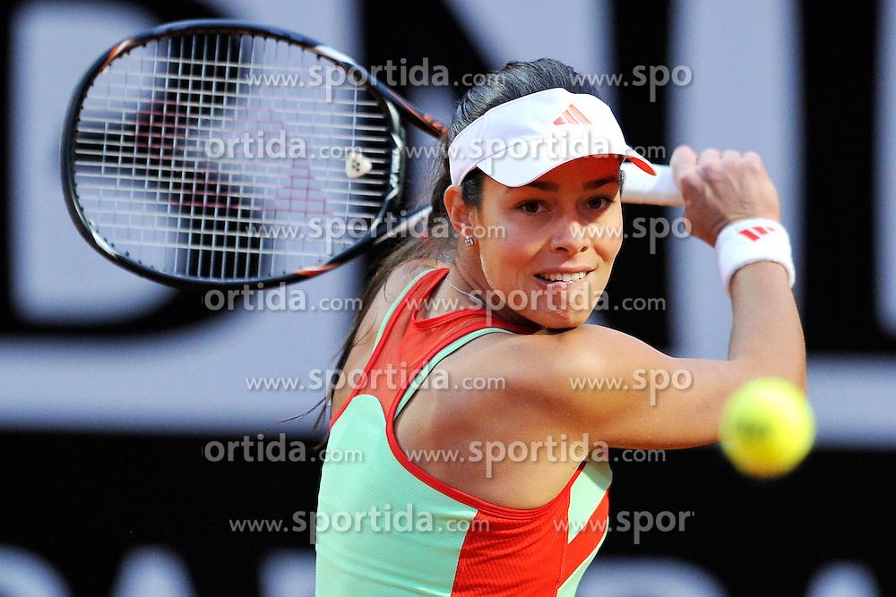 17.05.2012, Foro Italico, Rom, ITA, WTA, Internationali BNL d Italia, im Bild Ana Ivanovic Serbia // during the WTA, Internationali BNL d Italia at the Foro Italico, Rome, Italy on 2012/05/17. EXPA Pictures © 2012, PhotoCredit: EXPA/ Insidefoto/ Antonietta Baldassarre..***** ATTENTION - for AUT, SLO, CRO, SRB, SUI and SWE only *****
