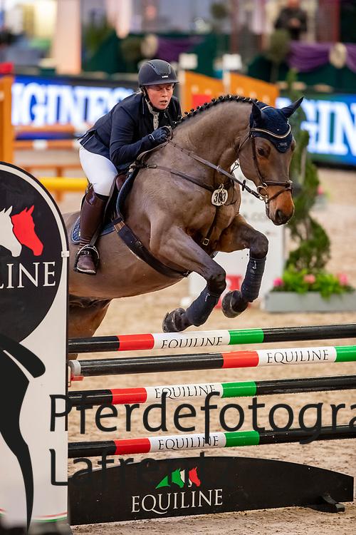 NOACK Sandy (GER), Lee<br /> Leipzig - Partner Pferd 2019<br /> SPOOKS-Amateur Trophy<br /> Small Tour<br /> 17. Januar 2019<br /> © www.sportfotos-lafrentz.de/Stefan Lafrentz