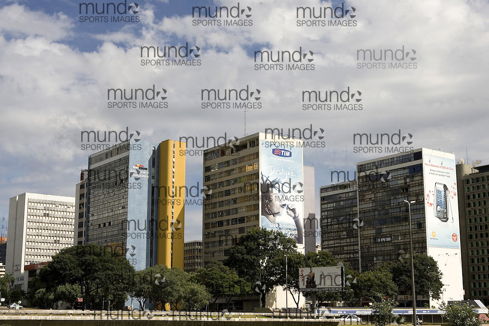 The Central commercial and business district in South Brasília.