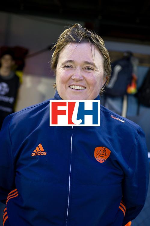 AUCKLAND - Sentinel Hockey World League final women<br /> Match id:10318<br /> 18 NED v KOR (Semi Final)<br /> Foto: Alyson ANNAN Head Coach <br /> <br /> WORLDSPORTPICS COPYRIGHT FRANK UIJLENBROEK