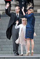 "PRINCE EDWARD, SOPHIE, COUNTESS OF WESSEX AND LADY LOUISE - THANKSGIVING SERVICE.Members of the Royal Family attend a Thanksgiving Service at St Paul's Cathedral, London in celebration of the Queen's Diamond Jubilee_5th June 2012.Mandatory Credit Photo: ©A Linnett/NEWSPIX INTERNATIONAL..**ALL FEES PAYABLE TO: ""NEWSPIX INTERNATIONAL""**..IMMEDIATE CONFIRMATION OF USAGE REQUIRED:.Newspix International, 31 Chinnery Hill, Bishop's Stortford, ENGLAND CM23 3PS.Tel:+441279 324672  ; Fax: +441279656877.Mobile:  07775681153.e-mail: info@newspixinternational.co.uk"