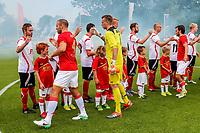 DIRKSHORN, 01-07-2017, Regioselectie - AZ, 1-7, AZ speler Ron Vlaar, AZ keeper Marco Bizot