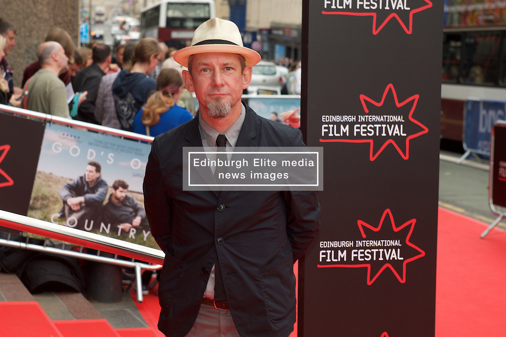 Ian Hart on the red carpet at the Edinburgh International Film Festival Opening Night Gala opening of the UK  Premier of God's Own Country directed by Francis Lee at Edinburgh's Festival Theatre. Wednesday 21st June 2017(c) Brian Anderson | Edinburgh Elite media