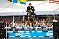 Kutscher Marco, GER, Policeman<br /> FEI WBFSH Jumping World Breeding Championship for Young Horses<br /> Lanaken 2019<br /> © Hippo Foto - Dirk Caremans<br />  22/09/2019