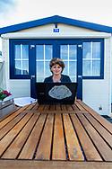 Social Media-shoot Bianca Mokkenstorm van Text on the Beach,