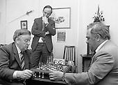 1982 -  Chess Grandmaster visits Clerys, Dublin