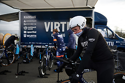 Mieke Kröger (GER) at Healthy Ageing Tour 2019 - Stage 4A, a 14.4km individual time trial starting and finishing in Winsum, Netherlands on April 13, 2019. Photo by Sean Robinson/velofocus.com