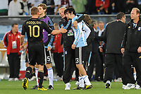 FOOTBALL - FIFA WORLD CUP 2010 - 1/4 FINAL - ARGENTINA v GERMANY - 3/07/2010 - DESPAIR JAVIER PASTORE  (ARG)<br /> PHOTO FRANCK FAUGERE / DPPI