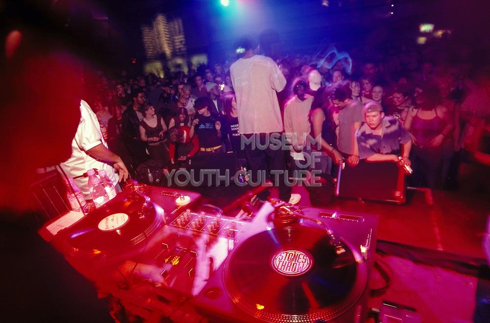 DJ and rapper performing at Dekefex.