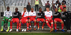 Cape Town-180804 Supersport United substitutes on the bench before their game against Cape Town City  in the first game of the 2018/2019 season at Cape Town Stadium.photograph:Phando Jikelo/African News Agency/ANA