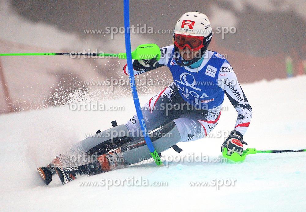 29.12.2013, Hochstein, Lienz, AUT, FIS Weltcup Ski Alpin, Lienz, Damen, Slalom 1. Durchgang, im Bild Alexandra Daum (AUT) // Alexandra Daum (AUT) during ladies Slalom 1st run of FIS Ski Alpine Worldcup at Hochstein in Lienz, Austria on 2013/12/29. EXPA Pictures © 2013, PhotoCredit: EXPA/ Erich Spiess