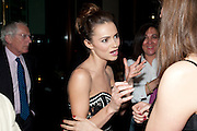 KARA TOINTON;, The aftershow party for PYGMALION. National Gallery Gallery CafŽ, London.  May 25, 2011,<br /> <br /> <br /> <br />  , -DO NOT ARCHIVE  Copyright Photograph by Dafydd Jones. 248 Clapham Rd. London SW9 0PZ. Tel 0207 820 0771. www.dafjones.com.<br /> KARA TOINTON;, The aftershow party for PYGMALION. National Gallery Gallery Café, London.  May 25, 2011,<br /> <br /> <br /> <br />  , -DO NOT ARCHIVE  Copyright Photograph by Dafydd Jones. 248 Clapham Rd. London SW9 0PZ. Tel 0207 820 0771. www.dafjones.com.