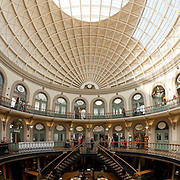 The Corn Exchange Leeds, opened in 1864. Following refurbishment in the 1980s, it now houses  shops and restaurants.