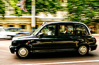 A Cab, London, England.