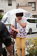 May 28, 2019, Kawasaki, Japan: A man wielding knives went on a morning rampage attacking people at a bus stop close to Noborito Station in a sleepy suburb outside Tokyo. Three died and sixteen were injured with three still in critical condition. Many of the victims were children waiting for their school bus to take them to Caritas Gakuen, a Catholic elementary school located about one kilometer from the scene. Caritas was founded by Soeurs de la Charite de Quebec, a Catholic nun organization from Quebec, Canada. Among the dead were 11 year old Hanako Kuribayashi, a female sixth grader from Tokyo, and 39 year old Satoshi Oyama from Tokyo, an employee of Japan's Foreign Ministry. Oyama is the father of a student at the school who was not injured in the attack. The third death was the attacker, a 51 year old resident of Kawasaki who died from a self inflicted neck wound. His motive for the attack which began shortly after 7:30 am is unknown. Japan is one of the safest nations in the world which tightly controls weapon ownership, both guns and swords. Even so, knife rampages continue with the last one occurring in 2016 when a man attacked a mental care facility in Tsukui City killing 19 patients. Photo by Torin Boyd.