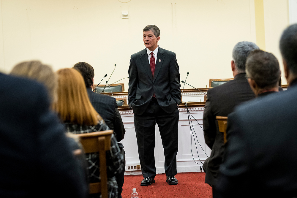 Rep. Jeb Hensarling (R-TX) speaks to CSBS members during the 2017 CSBS Fly-In on Capitol Hill in Washington, D.C. on March 30, 2017.