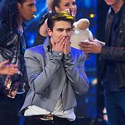 NLD/Hilversum/20130706 - Finale X-Factor 2013, winnaar Haris Alagic