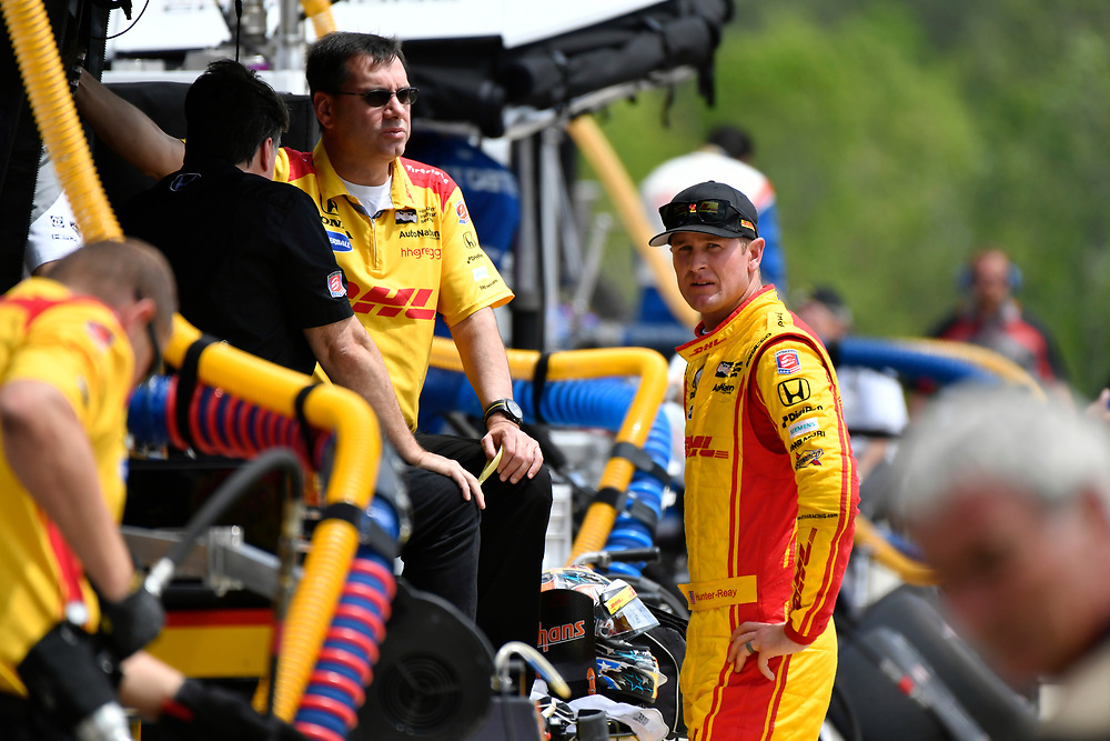 2017 Verizon IndyCar Series<br /> Honda Indy Grand Prix of Alabama<br /> Barber Motorsports Park, Birmingham, AL USA<br /> Saturday 22 April 2017<br /> Ryan Hunter-Reay, Andretti Autosport Honda<br /> World Copyright: Scott R LePage<br /> LAT Images<br /> ref: Digital Image lepage-170422-bhm-2611