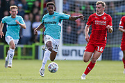 Forest Green Rovers Reece Brown(10) runs forward during the EFL Sky Bet League 2 match between Forest Green Rovers and Swindon Town at the New Lawn, Forest Green, United Kingdom on 25 August 2018.
