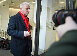© Licensed to London News Pictures. 06/01/2020. London, UK. Labour Party Chairman IAN LAVERY MP, arrives for a Labour Party NEC meeting in London where the upcoming leadership election will be organised. Current leader Jeremy Corbyn pledged to step down after the Conservative party won an 80 seat majority at a general election. Photo credit: Ben Cawthra/LNP
