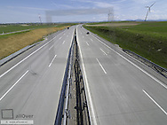 A1 West motorway, guide rail, concrete road surface, Austria, Lower Austria, Verkehr, A1, Highway West