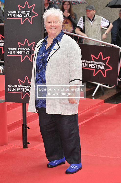 "Edinburgh International Film Festival, Sunday 26th June 2016<br /> <br /> Stars turn up on the closing night gala red carpet for the World Premiere of ""Whisky Galore!""  at the Edinburgh International Film Festival 2016<br /> <br /> Val McDermid<br /> <br /> (c) Alex Todd | Edinburgh Elite media"
