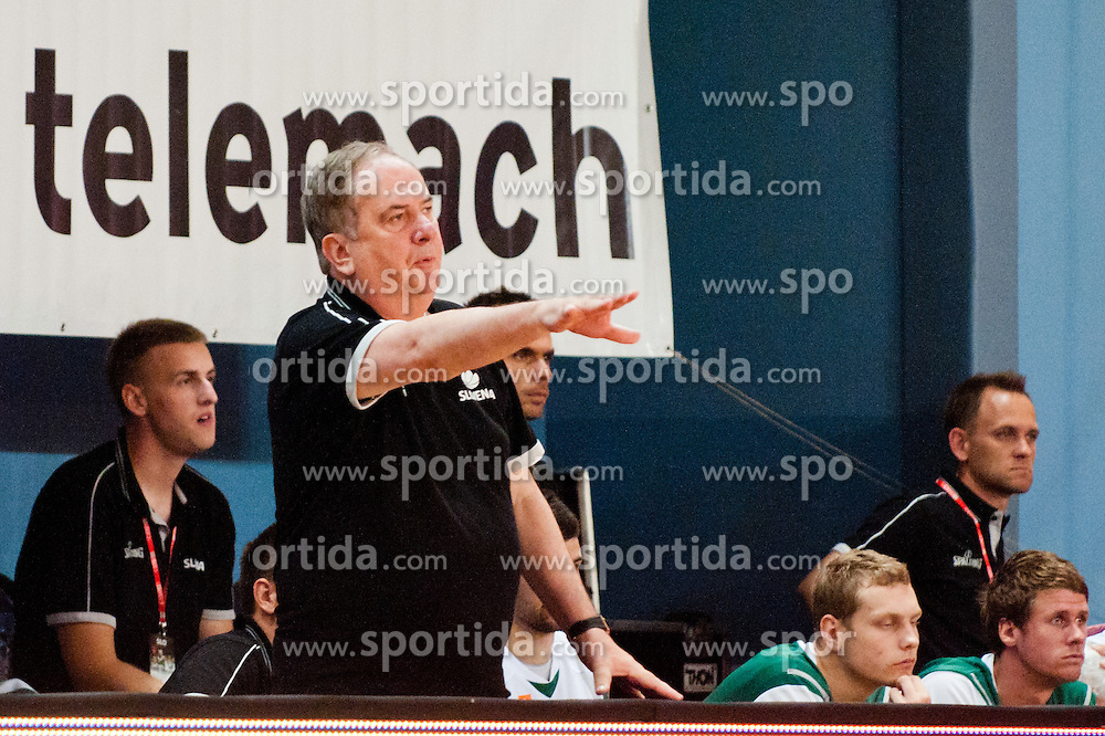 Bozidar Maljkovic, head coach of Slovenia, at exhibition game between Slovenia and Poland for Primus Trophy 2011Lithuania as part of exhibition games before European Championship L2011on July 23, 2011, in Ljudski Vrt, Ptuj, Slovenia. (Photo by Matic Klansek Velej / Sportida)