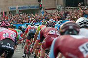 """Big Start"" Israel Stage 2 of the Giro d'Italia, from Haifa to Tel Aviv (167Km), Photographed in Jaffa 500 Meters before the finish line, 5th May 2018"