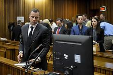 MAR 03 2014 Pistorius In Court