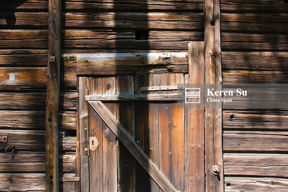 Historical wooden house, Seurasaari Open Air Museum, Helsinki, Finland