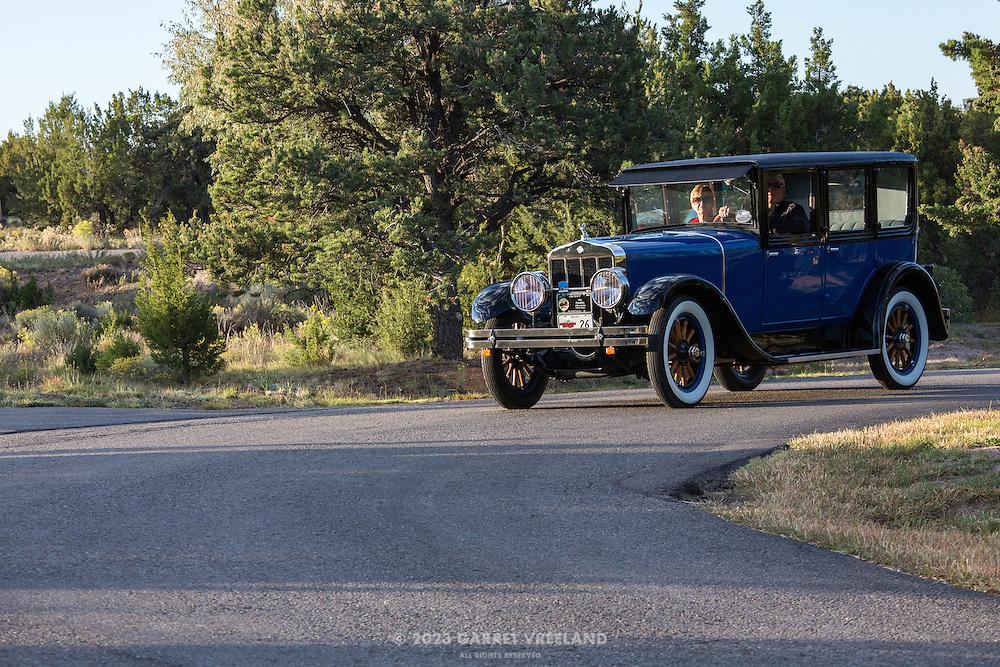 1926 Franklin 11A Sedan with Walker Body, 2012 Santa Fe Concorso High Mountain Tour.