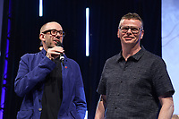 The Chemical Brothers on stage during the O2 Silver Clef Awards 2019, Grosvenor House, London, UK, Friday 05 July 2019<br /> Photo JM Enternational