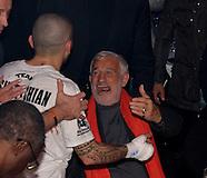 Jean-Paul Belmondo présent au combat de boxe de Miskirtchian