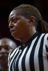 NORMAL, IL - October 30:  Lasha Hopson during a college women's basketball game between the ISU Redbirds and the Lions on October 30 2019 at Redbird Arena in Normal, IL. (Photo by Alan Look)