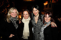 Jo Carter, Robin Robinson, Jennifer Toffey and Susie Baxter, Nordoff Robbins Carol Service  2011 sponsored by Coutts. London..Wednesday, 14. Dec 2011