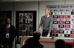 Arsenal manager Arsene Wenger in his Press conference - Mandatory by-line: Alex James/JMP - 14/01/2018 - FOOTBALL - Vitality Stadium - Bournemouth, England - Bournemouth v Arsenal - Premier League