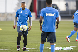 July 26, 2017 - Marseille, FRANCE - Oostende's Andile Ernest Jali pictured during a training session of Belgian first division soccer team KV Oostende ahead of the first leg of the third qualifying round for the UEFA Europa League competition, Wednesday 26 July 2017 in Marseille. KV Oostende plays against Olympic Marseille on Thursday...BELGA PHOTO LAURIE DIEFFEMBACQ (Credit Image: © Laurie Dieffembacq/Belga via ZUMA Press)