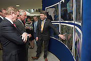 19/05/2015 Repro free  HRH The Prince of Wales on his visit to the Marine Institute where he met An Taoiseach Enda Kenny TD and Marine Institute CEO Dr. Peter Heffernan and talked to the Marine Institute staff about their work in areas including analysing the impact of Climate change on the ocean , sustainable fisheries , marine bio discovery and international collaboration on Ocean reseach. Photo: Andrews Downes XPOSURE