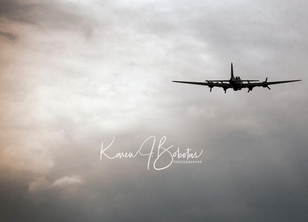 Laconia Airport World War II planes September 22, 2010.
