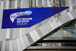 © Licensed to London News Pictures. 03/04/2019. London, UK. The £400 million Spurs new stadium as Tottenham Hotspur's will play their first competitive game against Crystal Palace this evening. Photo credit: Dinendra Haria/LNP
