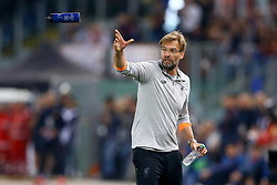 May 2, 2018 - Rome, Lazio, Italy - AS Roma v FC Liverpool - Champions League semi-final second leg.Liverpool manager Jurgen Klopp at Olimpico Stadium in Rome, Italy on May 02, 2018. (Credit Image: © Matteo Ciambelli/NurPhoto via ZUMA Press)