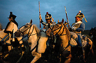 Battle of Waterloo 200th reenactment, Belgium (Saturday 20 June 2015). 2nd reenactment - the Allied counterattack.  © Rudolf Abraham