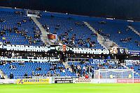 Supporters Le Havre  - 12.12.2014 - Le Havre / Laval - 17eme journee de Ligue 2 <br /> Photo : Fred Porcu / Icon Sport