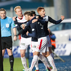 Falkirk 1 v 1 Hamilton, Scottish Premiership play-off semi-final first leg